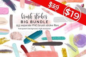 Huge Bundle of brush strokes