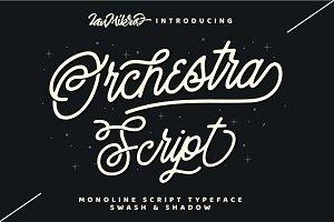 Orchestra Script - Monoline Typeface