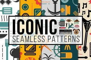 Iconic Seamless Patterns