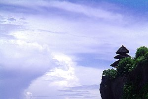 Temple on a Cliff