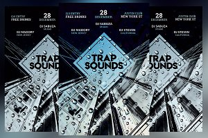 Trap Sounds Flyer