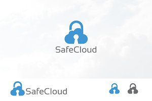 Cloud Padlock Security Online Data