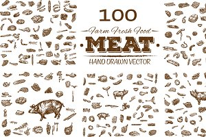 100 Vector bundle meat products