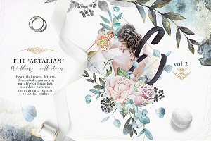 "Roses & watercolors ""Artarian"" vol.2"