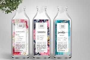 Jar Label Template ID55