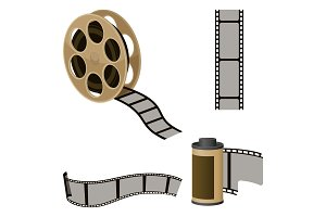 Film roll sets of elements for
