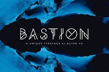 Bastion | Display Font
