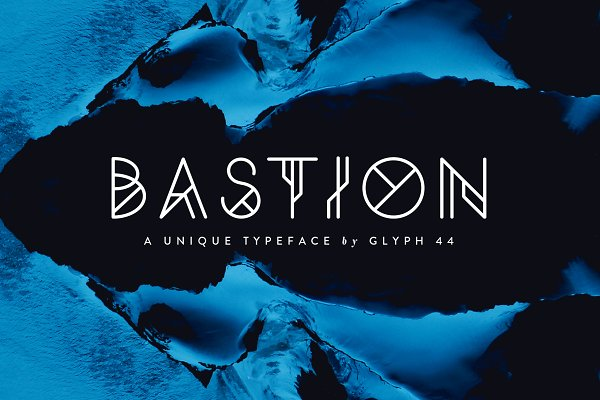 Bastion | Display Font