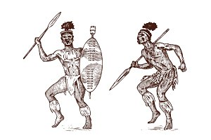 African tribes, Aborigines in