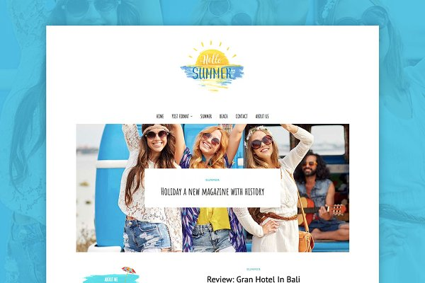 Summer Holiday - Travel Blog