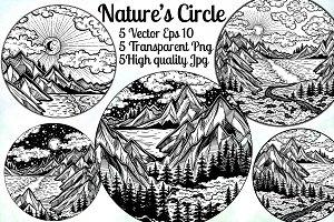 Nature's Circle Mini Set