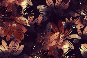 flowers seamless pattern | JPEG