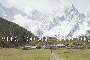 Nepalese village Bimthand among the