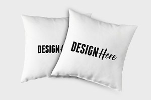 Realistic Pillow Mockups