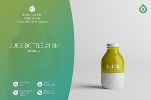 Juice Bottle SM Mock-Up #1 [V2.0]
