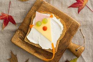 Kids breakfast sandwich