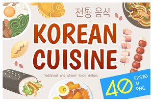 Korean cuisine dishes