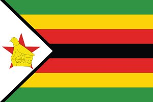 Vector of Zimbabwe flag.