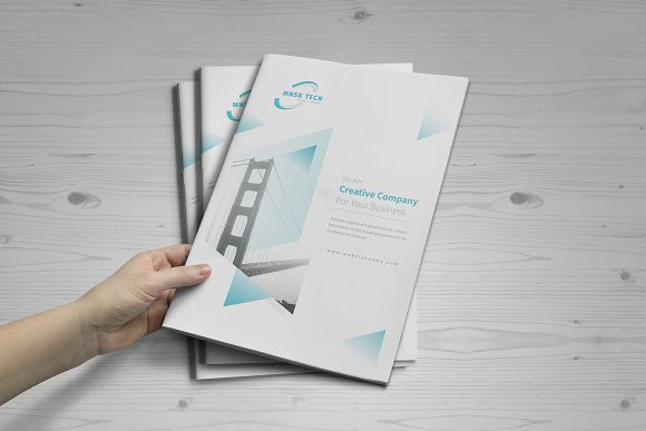 Business Brochure: 16 Pages in Brochure Templates