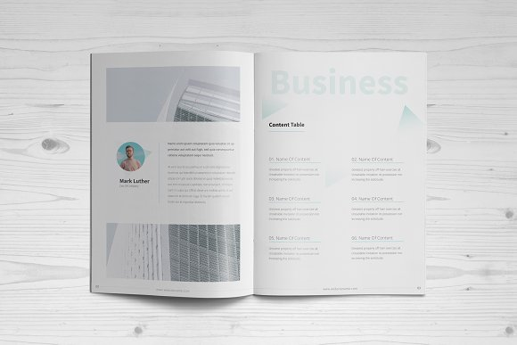 Business Brochure: 16 Pages in Brochure Templates - product preview 1