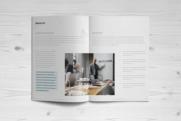 Business Brochure: 16 Pages in Brochure Templates - product preview 2