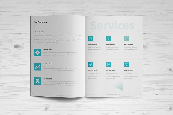 Business Brochure: 16 Pages in Brochure Templates - product preview 3