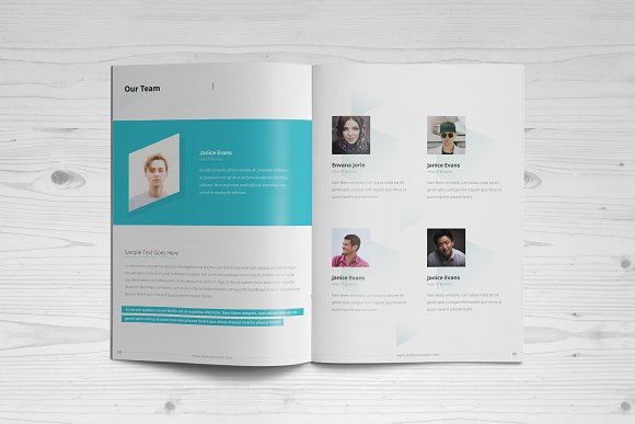 Business Brochure: 16 Pages in Brochure Templates - product preview 4