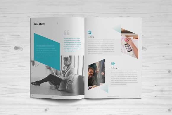 Business Brochure: 16 Pages in Brochure Templates - product preview 5