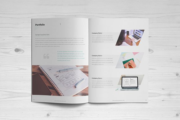 Business Brochure: 16 Pages in Brochure Templates - product preview 6