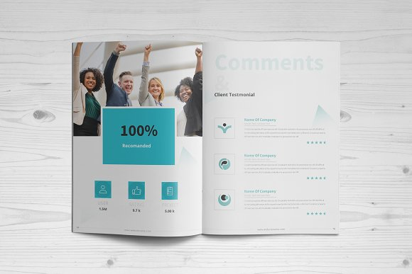 Business Brochure: 16 Pages in Brochure Templates - product preview 7