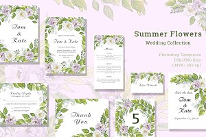 Summer Flowers - Wedding Collection