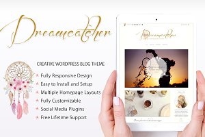 Dreamcatcher Creative Blogging Theme