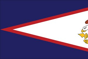 Vector of American Samoan flag.