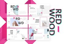 REDWOOD Keynote Template by  in Presentations