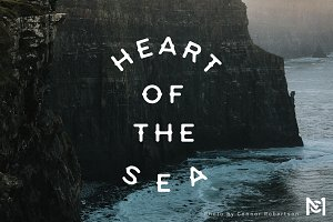 Heart of the Sea - Font