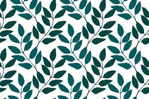 Rowanberry branch vector pattern