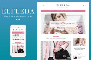 Elfleda - Blog & Shop Theme