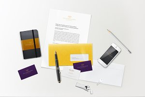 Lively Branding / Identity Mock-up