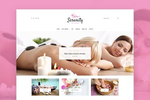 Serenity - Wellness WordPress Theme
