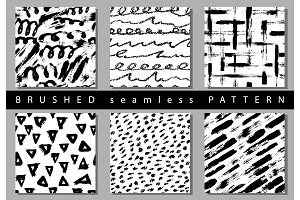 Vector Set of seamless pattern with