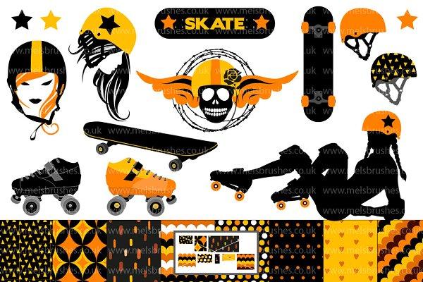 Roller Derby & Skateboard Graphics