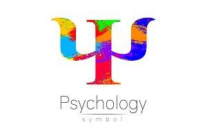 Modern Sign of Psychology. Psi