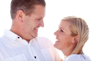 Attractive Caucasian Couple Having F