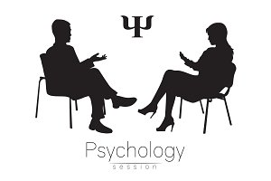 The psychologist and the client