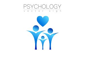 Modern people psi Sign of Psychology