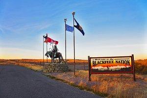 Reservation  blackfeet Indians