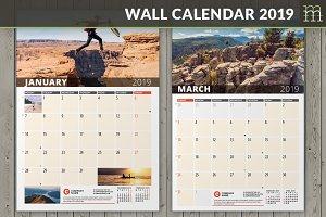 Wall Calendar 2019 (WC033-19)