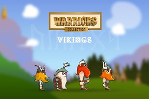 Sale - Vikings - Warriors Collection