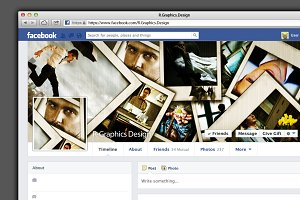 FB Timeline Cover- Photo Frames