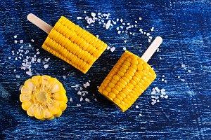 Cut corn